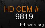 hd 9819 genuine part number