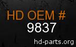 hd 9837 genuine part number