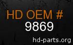 hd 9869 genuine part number