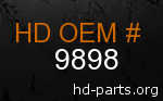 hd 9898 genuine part number