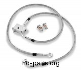 Goodridge OEM-Style DOT Rear Brake Line Kit