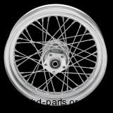 """Laced Chrome Rear Wheel, 16"""" x 3"""""""