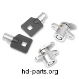 Drag Specialties Saddlebag Lock Kit