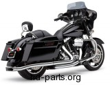 Cobra Center-Pro Slip-On Muffler for Touring
