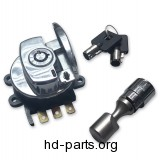 Ignition Switch and Fork Lock Kit