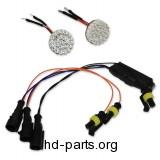 Custom Dynamics Amber LED Rear Turn Signals